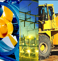 manufacture and supply of road-building machinery, spare parts and industrial electrical equipment