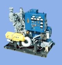 electric generators with automatic power supply change-over