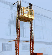 PMG-type double-masted hoists