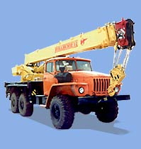 truck-mounted crane KS-35714