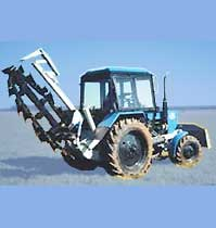 ditch-digging machine BGM-2