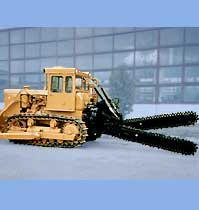 double-jib ditch-digging machine BR-00