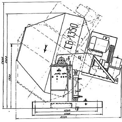 Схема СБ-1350