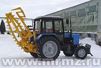 Баровая грунторезная машина БГМ-2У