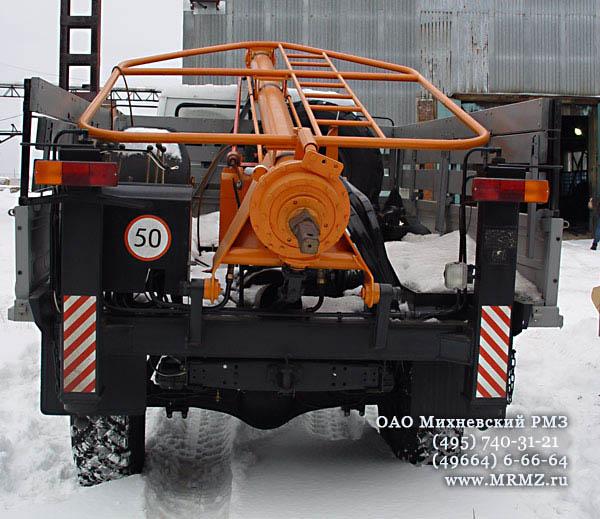 крановая машина БКМ-317