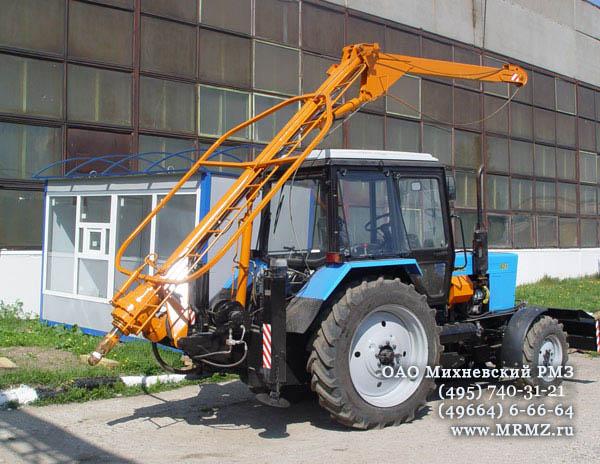 Бурильно-крановая машина БМ-205Д - описание и.