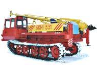 Бурильно - крановые машины БКМ-531, БКМ-534, БКМ-541