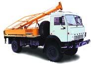 Бурильно - крановые машины БКМ-515 и БКМ-516