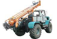 Бурильно - крановые машины БКМ-321