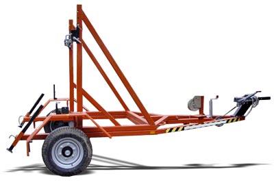 Прицеп специальный для перевозки кабеля 898201 (К-1) (кабельный транспортер)