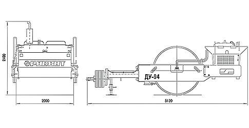 прицепной каток ДУ-94
