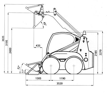 Схема мини погрузчика Амкодор 211