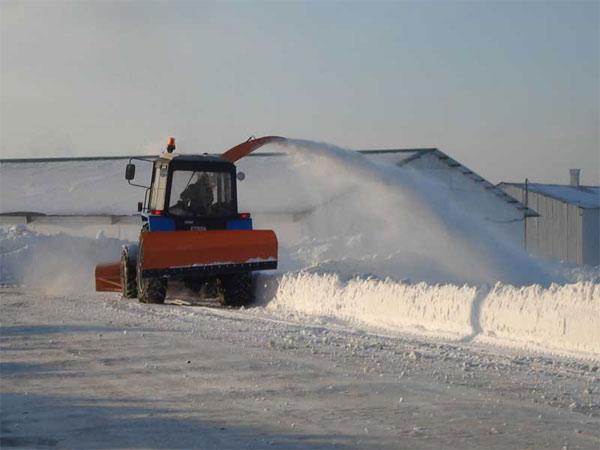 Отвал снежный гидрофицированный СО 2.5