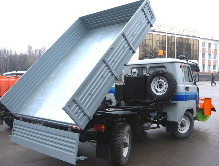 Кузов на грузовик своими руками 81